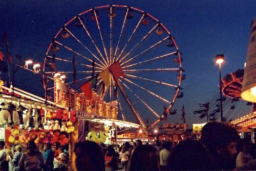 Photographing Carnival Rides At Night Carnival At Night Nigh...