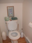 Everyone laughs at me because I always take pictures of the toilets. Why stop now?