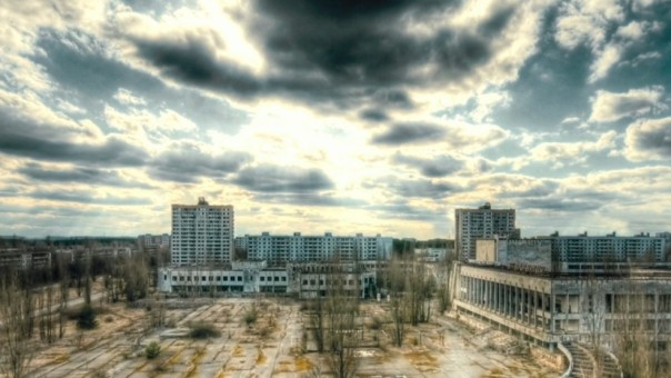 The ghostly, abandoned city of Pripyat is the setting for the new Oren Peli film Chernobyl Diaries.