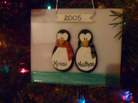 01 Penguin Christmas Ornaments