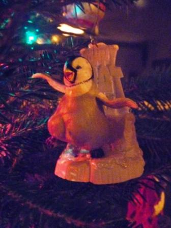 14 Happy Feet Christmas Ornament