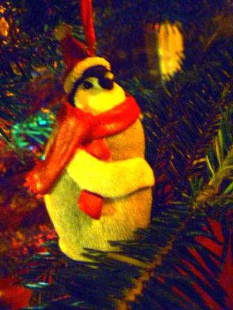 21 Penguin Christmas Tree Ornament