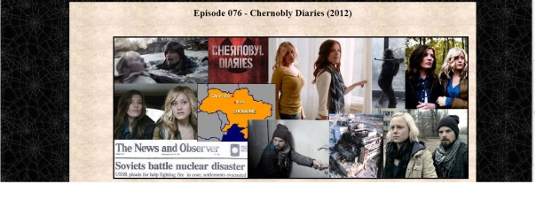 Dark Discussions Chernobyl Diaries Episode Artwork