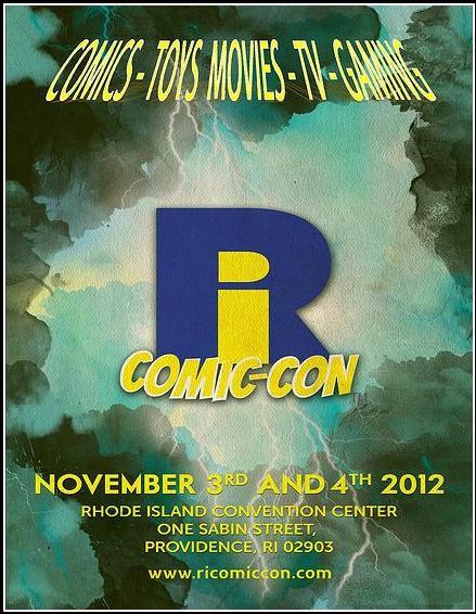 RI ComicCon Logo