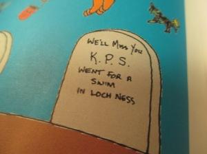 KPS Loch Ness Tombstone
