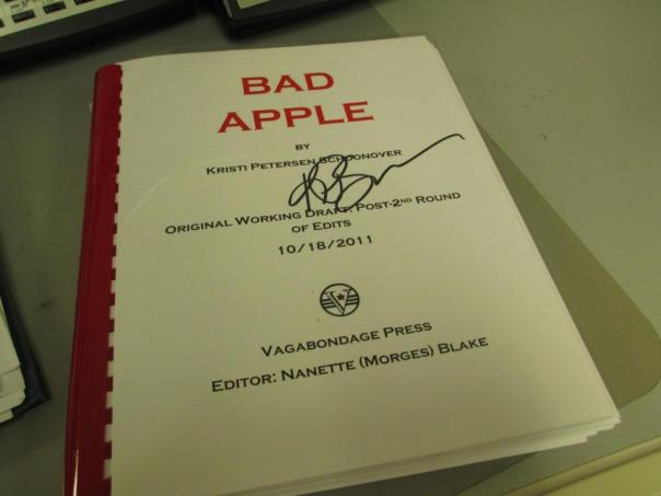 Bad Apple Vagabondage Press Draft Bound