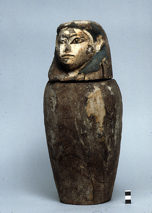 Canopic Jar from Tomb of Imhotep