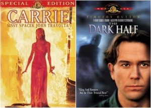 Carrie-The Dark Half Covers
