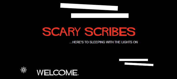 Scary Scribes Header