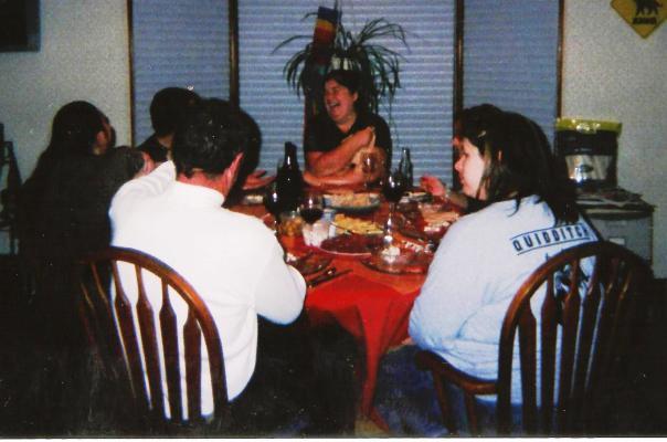 12 Tammy Nano Dinner 1 2005
