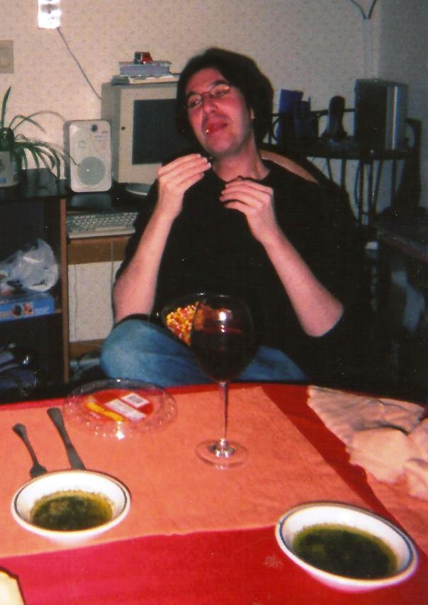 13 Tammy Nano Dinner 2 2005