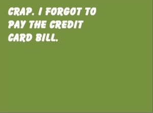 Credit Card Bill