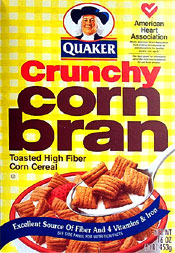 Original box CORN BRAN maybe