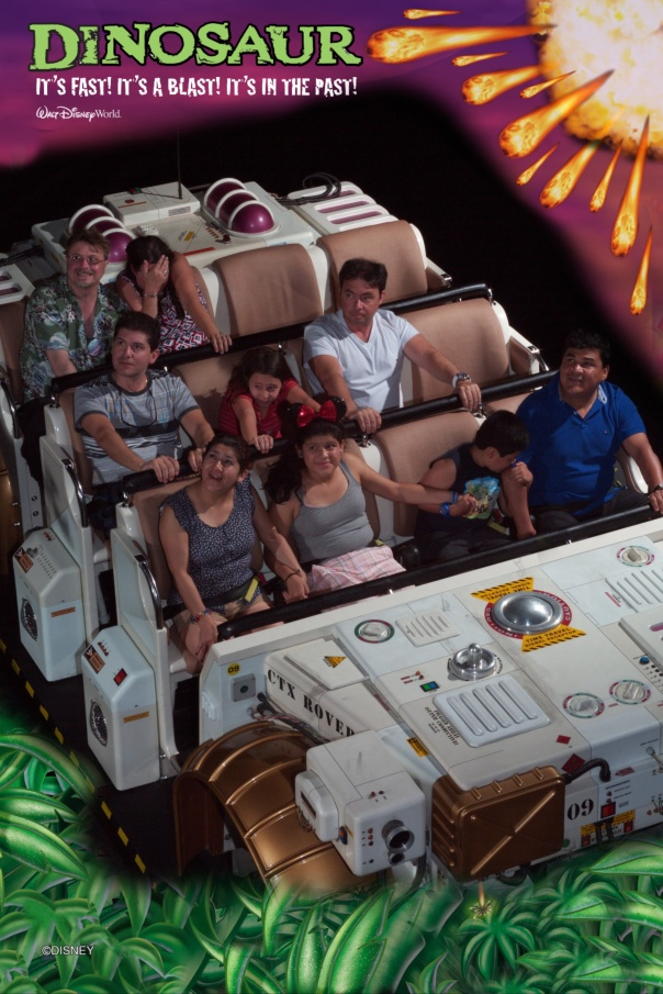 11A Dinosaur on ride Photo 2012