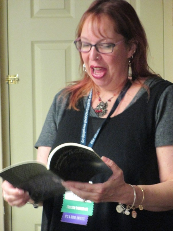 55 8Pi-Con Suzanne Reynolds-Alpert reads poetry from her collection FAERIE (PART ONE): AND OTHER POEMS OF DARKNESS AND LIGHT.