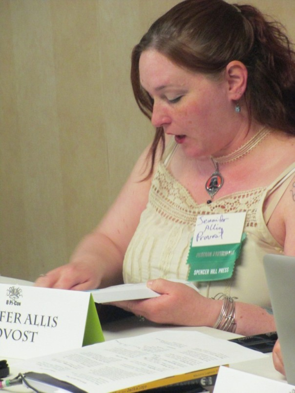 60 8Pi-Con Jennifer Allis Provost reads from her latest novel COPPER RAVENS.
