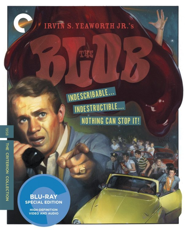 The Blob Criterion Collection Cover