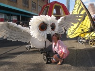 Missie with owl