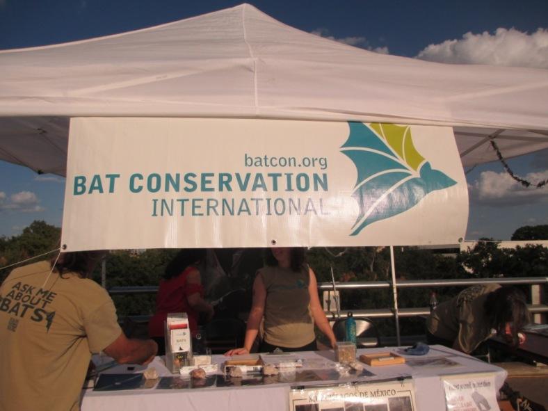 Bat Conservation International Booth