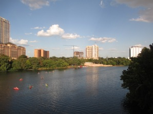 River downtown Austin