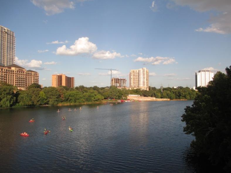 River downtown Austin