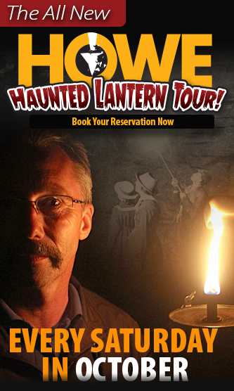 Howe Caverns Haunted Lantern Tour