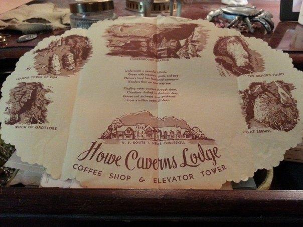 Howe Caverns Placemat