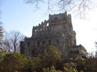 Gillette Castle 16 - View of Castle from path