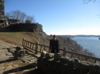 Gillette Castle 23 - Charles and the view