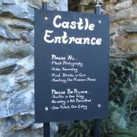 Gillette Castle 26 - Castle Rules