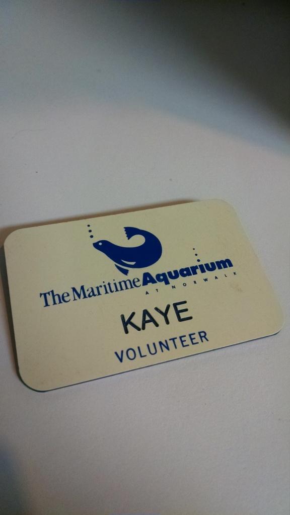 Kaye Original Volunteer Badge
