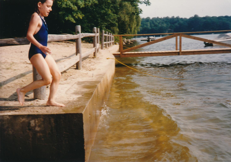 Missy Candlewood Lake Beach 1982