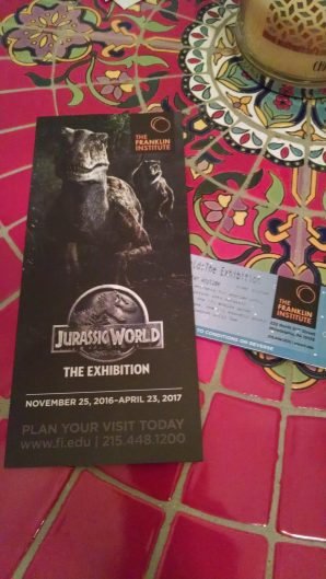 Jurassic World Exhibit Tickets 2