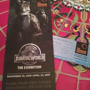 Jurassic World Exhibit Tickets 2