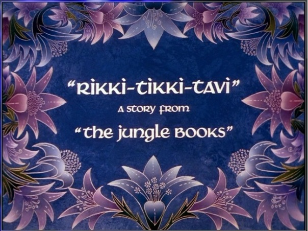 Rikki Tikki Tavi Chuck Jones Title Card