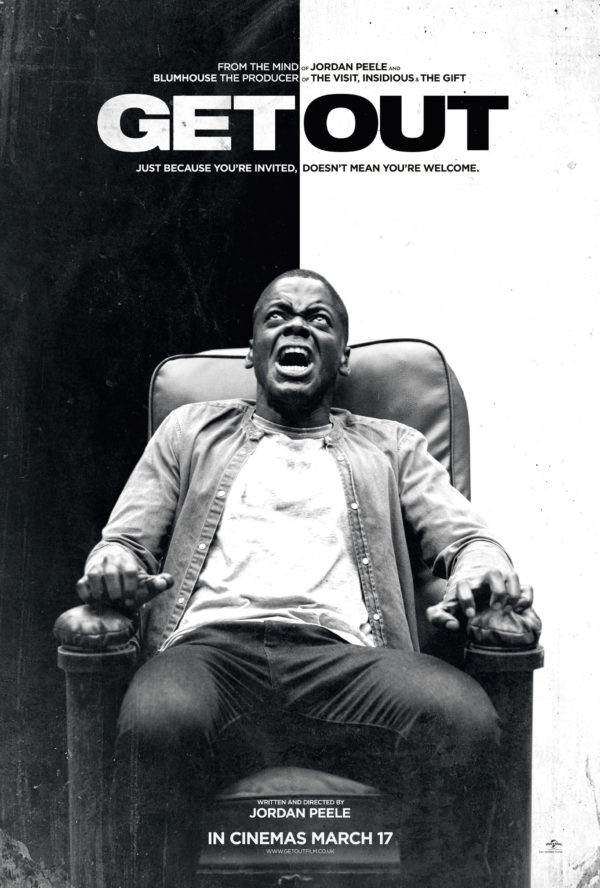 Get Out UK Poster