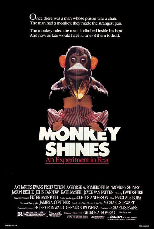 Monkey Shines Poster