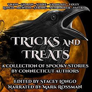 Tricks & Treats CT Audiobook Cover