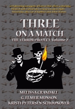 "Don't miss this trio of terrors which contains my ghostly novella, ""Splendid Chyna"""