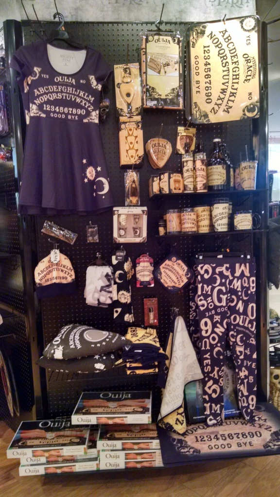 Ouija Board Costume Display