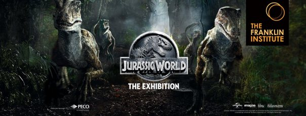 Jurassic World: The Exhibition Banner