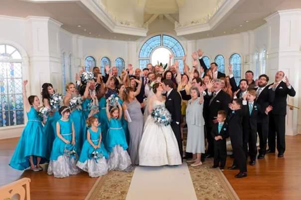 Wedding Day Group Shot