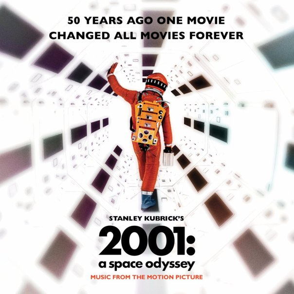 2001 50th anniversary Film Poster