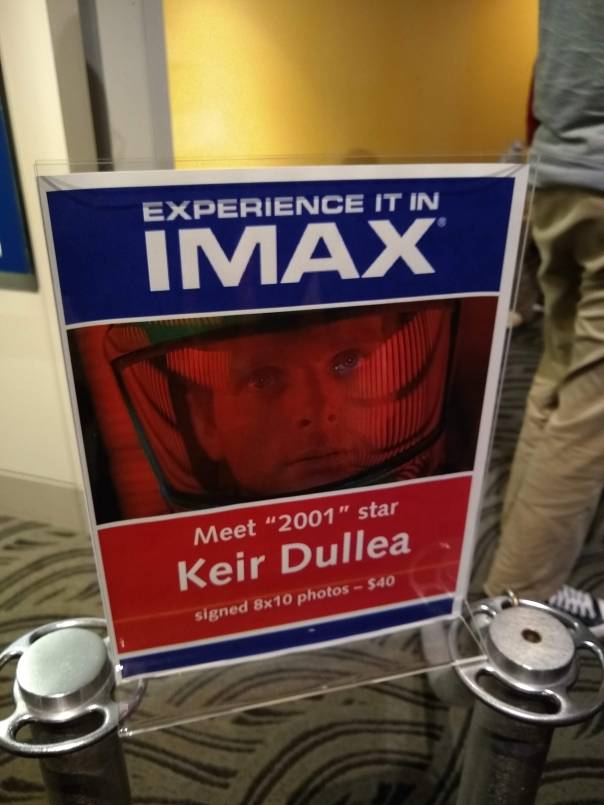 IMAX Keir Sign
