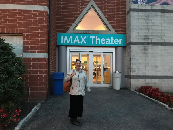 Kristi in Front of IMAX