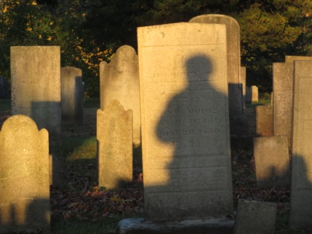 Shadow in the Cemetery