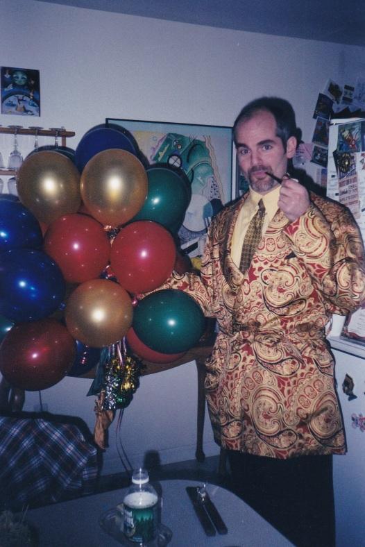 Manzino Balloons Xmas Cocktail 2002