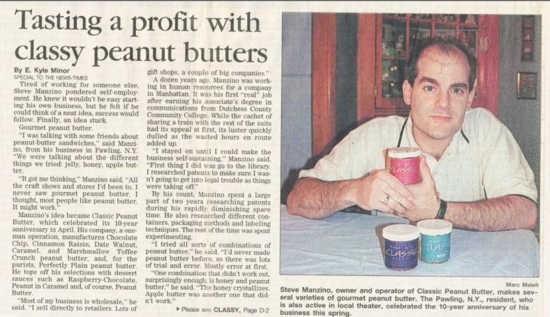 Manzino Peanut Butter Classics 1998