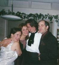 Manzino Poe Party Group Shot Nov 2000
