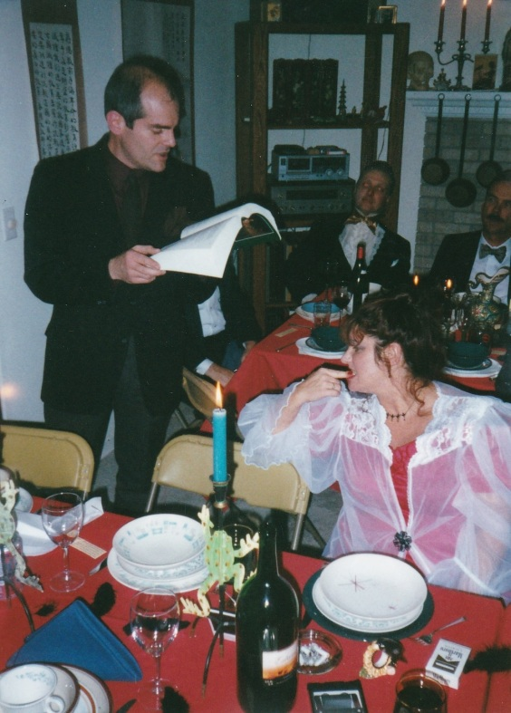 Manzino Poe Party Reading Nov 2000